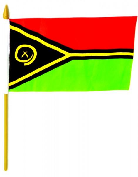 Vanuatu Tischfahne 10x15cm