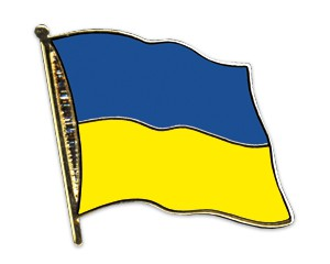 Ukraine Pin Flaggenpin