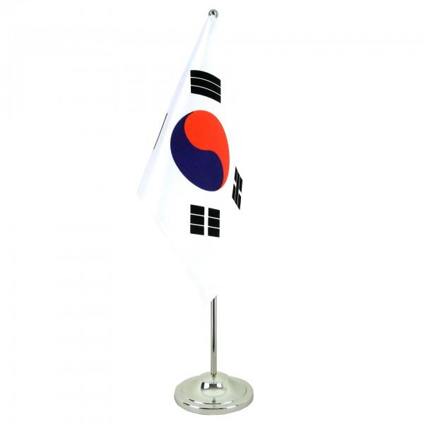 Südkorea Tischfahne 22,5x15cm