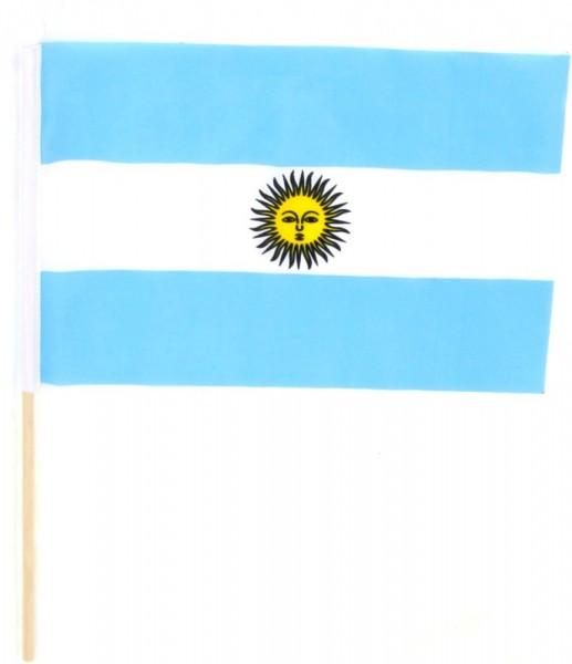 Argentinien Tischfahne 22,5x15cm
