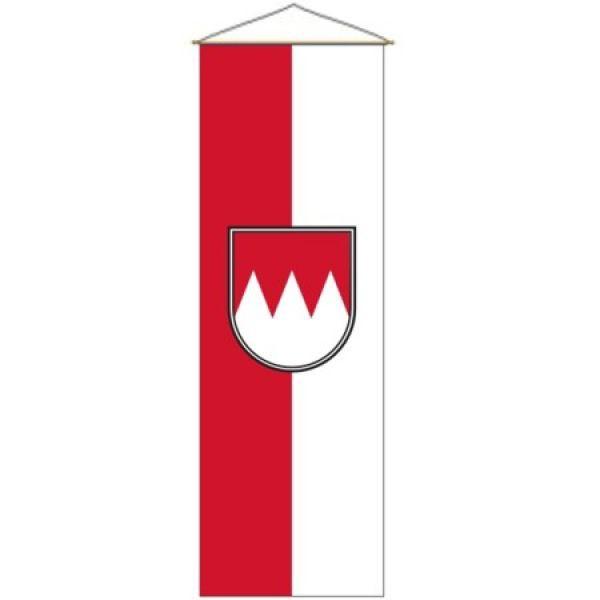 Franken Kleinbanner mit Wappen 52 x 120 cm