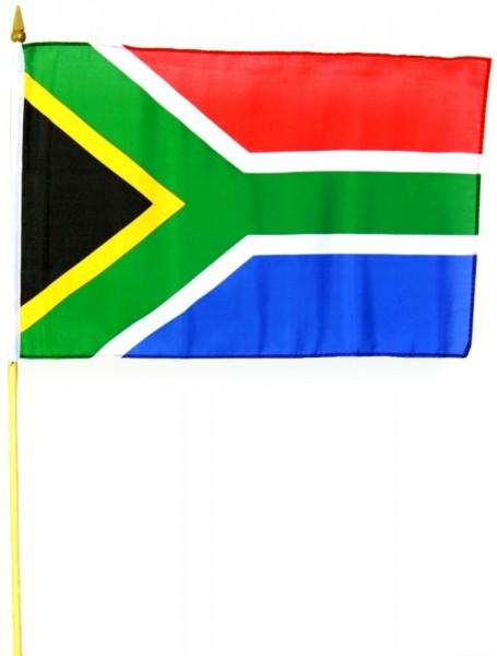 Südafrika Stockfahne 30cm x 45 cm