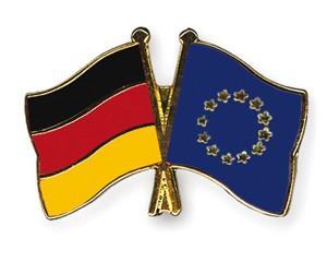 Deutschland-Europa Freundschaftspin Flaggenpin