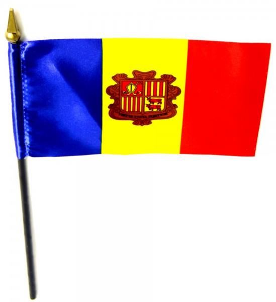Andorra Tischfahne 10x15cm