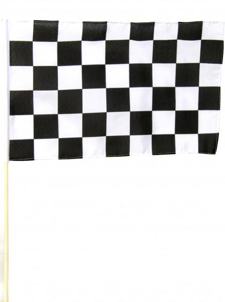 Start und Ziel Stockfahne 45cm x 70cm