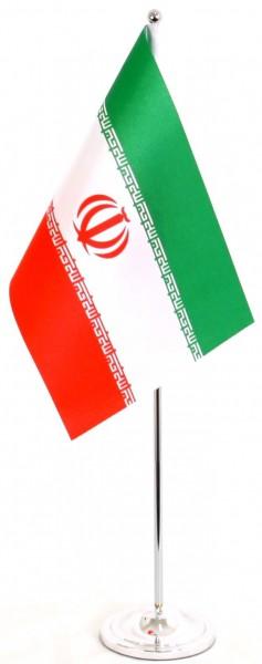 Iran Tischfahne 22,5x15cm Satin