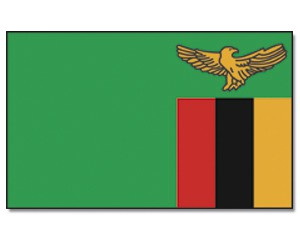 Sambia Flagge 90 x 150 cm