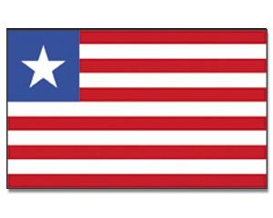 Liberia Flagge 90 x 150 cm