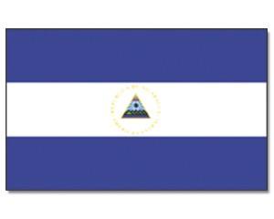 Nicaragua Flagge 90 x 150 cm