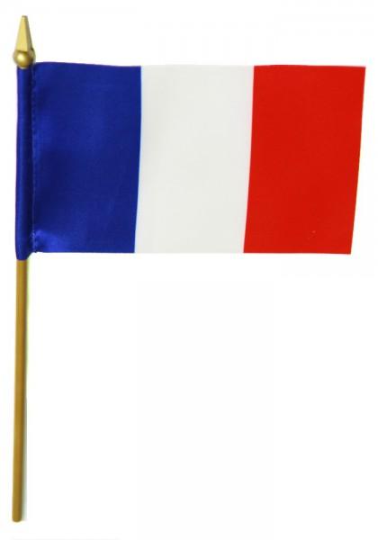 Frankreich Tischfahne 10x15cm