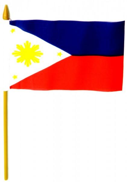 Philippinen Tischfahne 10x15cm