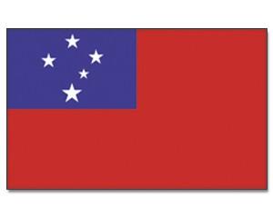 Samoa Flagge 90 x 150 cm