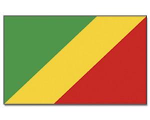 Kongo Republik Flagge 90 x 150 cm