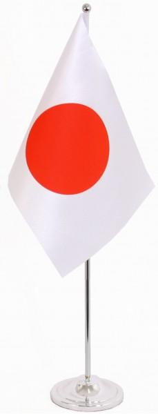 Japan Tischfahne 22,5x15cm Satin