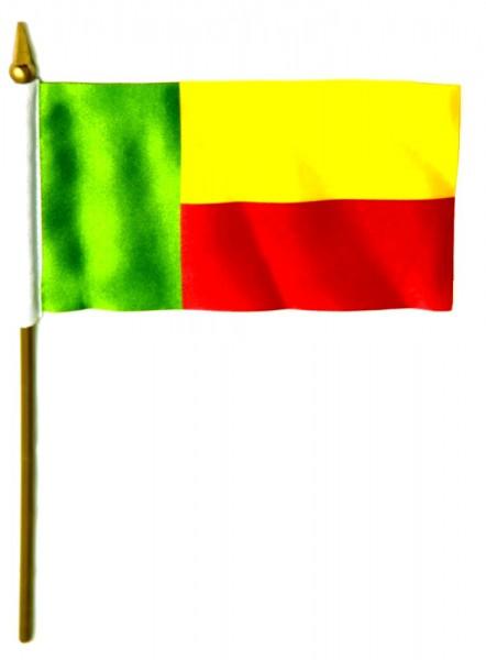 Benin Tischfahne 10x15cm