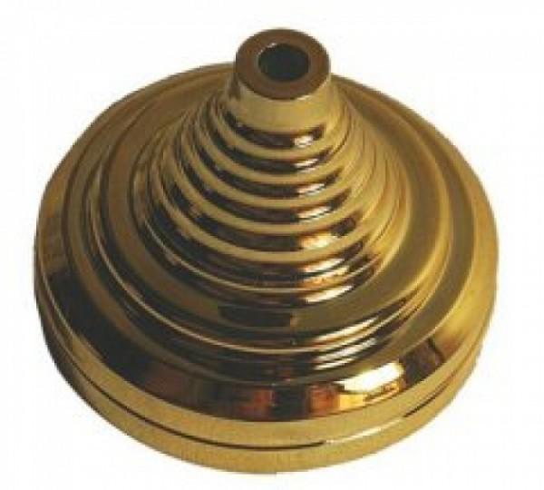 Tischsockel Gold für 1 Tischfahne 10x15cm und 22x15cm
