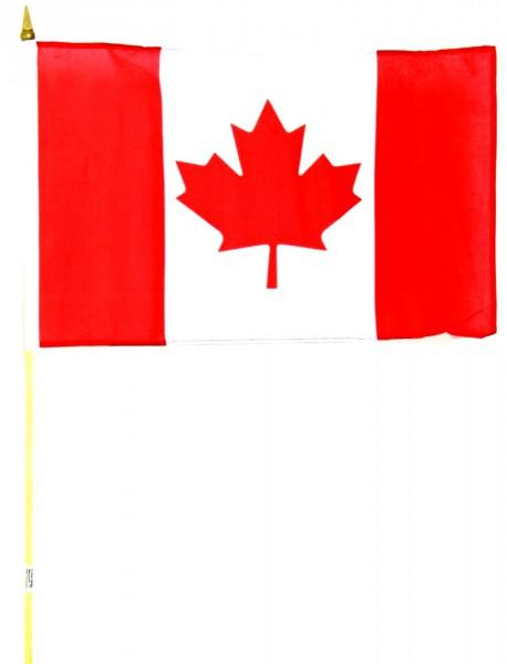Kanada Stockfahne 30cm x 45 cm