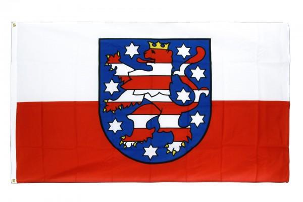 Thüringen Flagge 150x250 cm