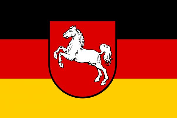 Niedersachsen Flagge 90x150 cm