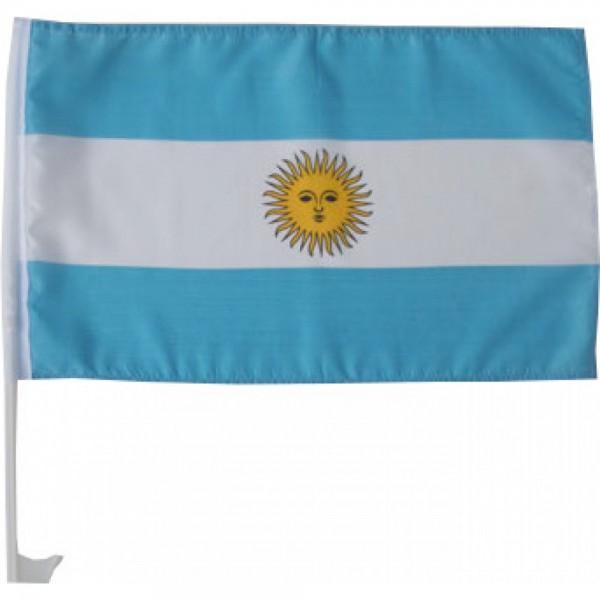 Argentinien Autofahne