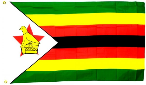 Simbabwe Flagge 90 x 150 cm