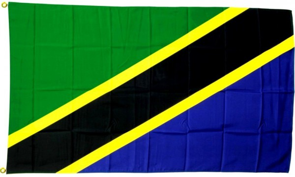 Tansania Flagge 90 x 150 cm