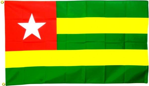 Togo Flagge 90 x 150 cm