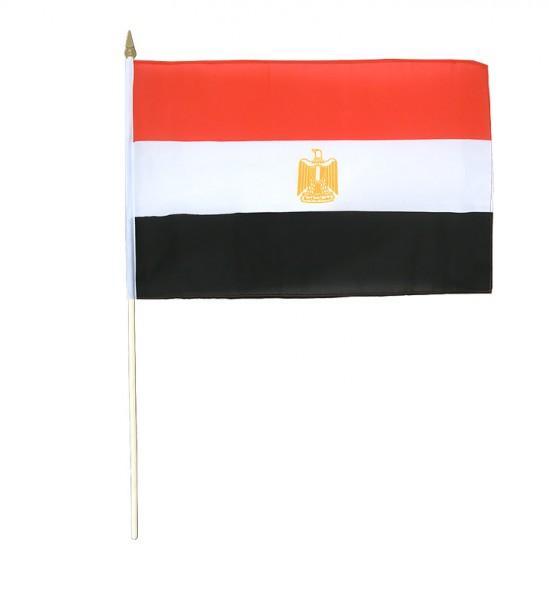 Ägypten Stockfahne 30 x 45 cm