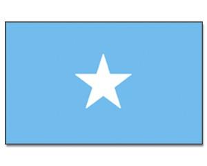 Somalia Stockfahne 30cm x 45 cm
