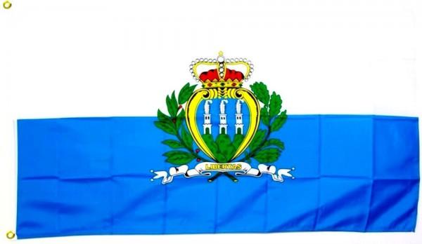 San Marino Fahne/Flagge - 60cm x 90cm