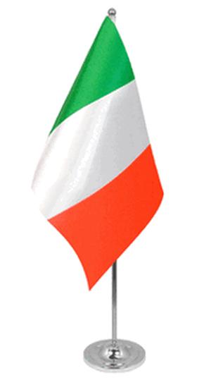 Italien Tischfahne 22,5x15cm Satin