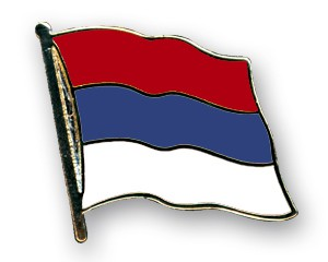 Serbien Pin Flaggenpin
