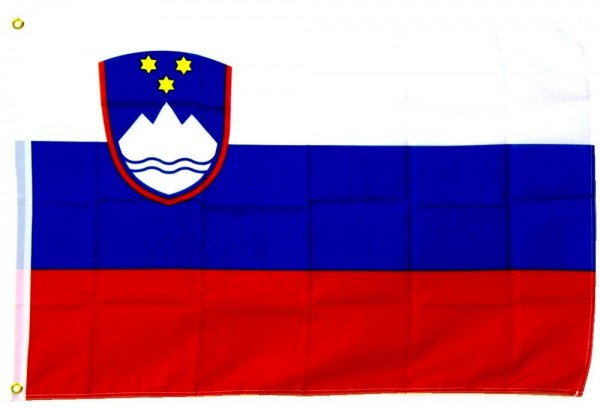 Slowenienflagge 90 x 150 cm