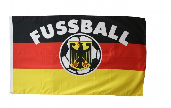 Deutschland Fan Flagge 90 x 150 cm Fussball 1