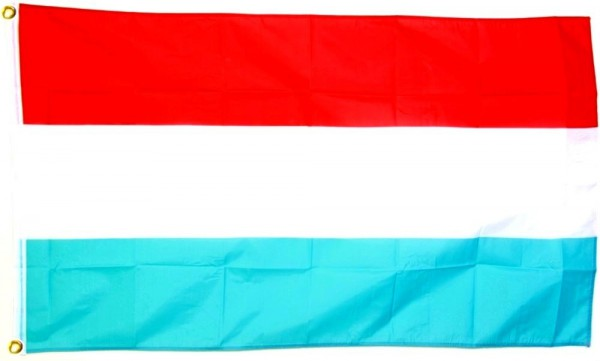 Luxemburgflagge 90 x 150 cm