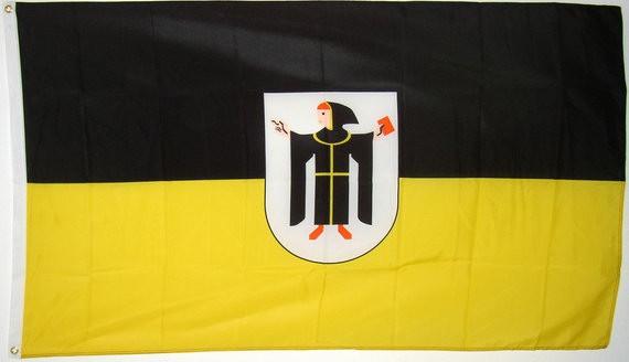 Münchner Kindl Flagge 90 x 150 cm