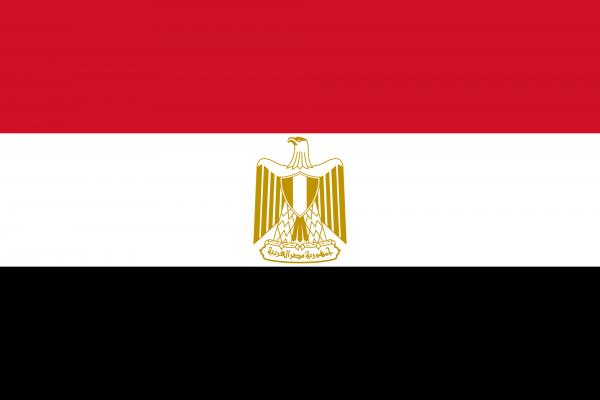 Ägypten Flagge 90 x 150 cm