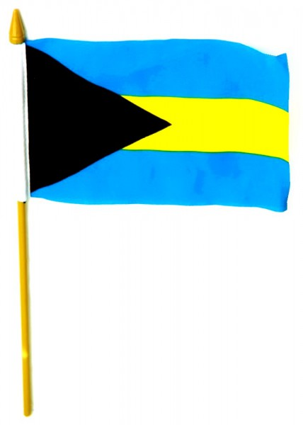 Bahamas Tischfahne 10x15cm