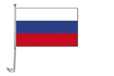 Russland Autofahne