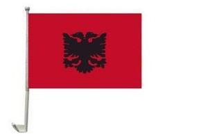 Albanien Autofahne