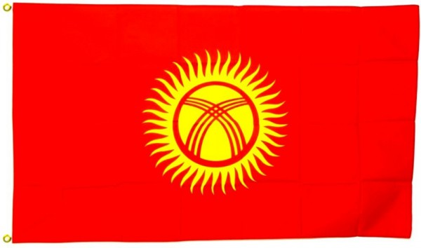 Kirgisistan Flagge 90 x 150 cm