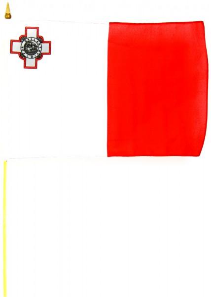 Malta Stockfahne 30cm x 45cm