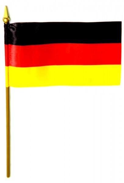 Deutschland Tischfahne 10x15cm