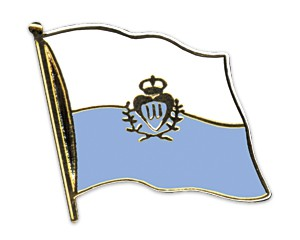 San Marino Pin Flaggenpin