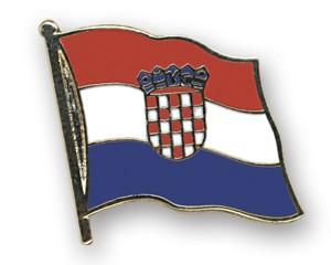 Kroatien Flaggenpin