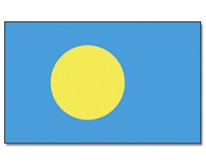 Palau Flagge 90 x 150 cm