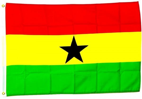 Ghana Flagge 90 x 150 cm