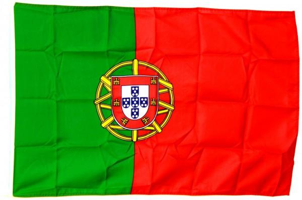 Portugal Hohlsaumflagge 60x90 cm
