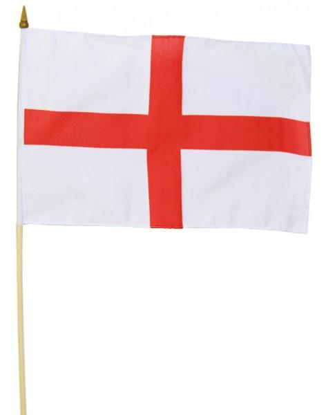 England Stockfahne 30cm x 45cm