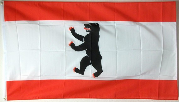 Berlin Flagge 150x250 cm